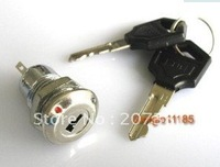 2pcs Key Switch ON/OFF Lock Switch KS-01