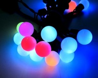 Free Shipping,5M 50LEDs String  Lights / 7-color Ball Design/Festivel/Christmas Lighint