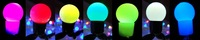 Free Shipping,8M 80LEDs String  Lights / 7-color Ball Design/Festivel/Christmas Lighting