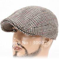 Newsboy Beret Cabbie beret Gatsby Flat Cap Hat grid