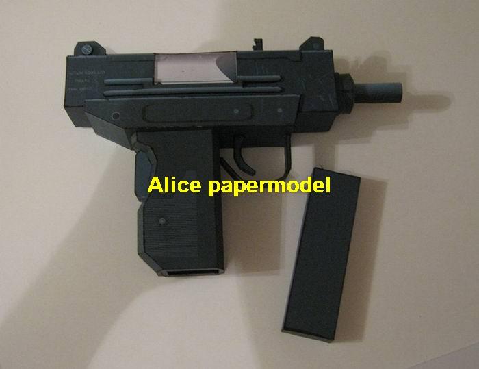 Как сделать из бумаги автомат узи видео
