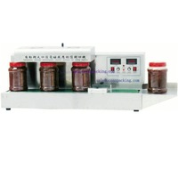 tabletop bottle sealing machine with conveyor (SF-1800)