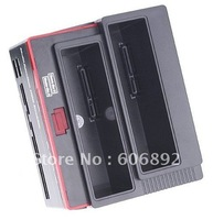 """free shipping HDD Docking Station,3.5""""/2.5"""" SATA HDD dock / Docking station with all in one card reader USB HUB"""
