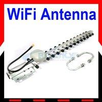 2.4GHz 20dBi RP-SMA Yagi Wireless WLAN WiFi Antenna New