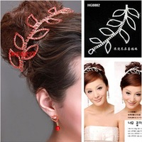 2011 Red Bridal Crown for Wedding