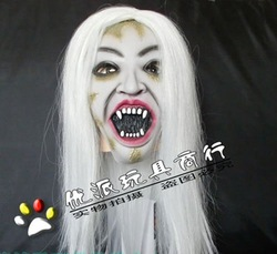 Halloween mask, halloween gift bar supplies decorative props haunted ghost horror toy-free shipping(China (Mainland))