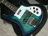 Wholesale 4003 BLUEBURST 4 String Bass Ric 2011 new arrival Free shipping