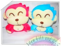 Kapo monkey Plush doll speaker enjoy music Digital Speaker, Portable Speaker, sound box(blue,pink)