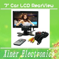 &amp;quot; Car LCD RearView CCTV Color Screen Monitor Reverse Camera + free shipping