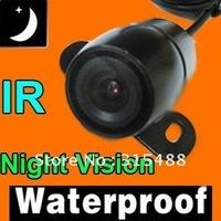 PAL/NTS CAR CAMERA REVERSE BACKUP REARVIEW COLOR + NIGHT VISION+ WATERPROOF