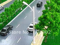 free shipping 20pcs scale train layout model lamppost lamp N RA150 for train layout