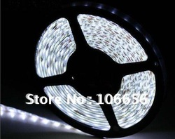 rgb/white led strip 5050 flexible rope light 5m 300led 60/m waterproof IP65 factory wholesale price(China (Mainland))