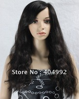 "Best quality 18"" Indian remy human hair front lace wig"