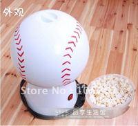 Hot !Pop-corn,Mini Popcorn machine,Baseball style popcorn maker,Household electric popcorn maker