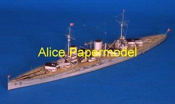 [Alice papermodel] Long 1.1 meter 1:180  WWI German armoured cruiser SMS GOEBEN battleship warship models