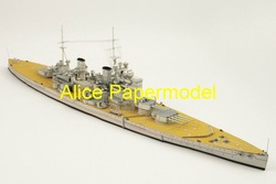[Alice papermodel] Long 80CM WWII British battleship HMS King George V battlecruiser boat ship military models(China (Mainland))