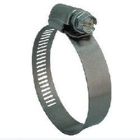 Stainless steel material worm drive hose clamp with 12.7mm band width