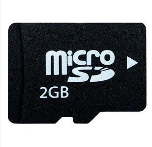 2GB 2G Micro SD Microsd TF Memory Card, Music Player Card, Mobile Phone Card / Free Shipping(China (Mainland))