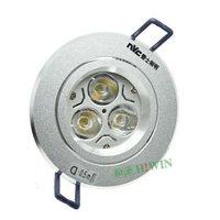 LED Spotlight 3W Ceiling NDL874 bright silver sand