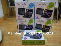 Fast Delivery. Good quality of product 7.5&quot; Portable DVD Player Mp3+TV+MP4+USB+SD+GAME+Remote In Stock!  DHL.EMS. FedEx