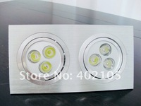 LED Downlight, 2*3*1W,Square