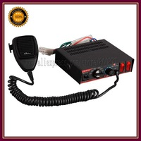(CJB-80A) 80W Siren, 7 tones, With Microphone, 2 light switches, 7 sounds, volume adjustable (with 1pc X 80W speaker)