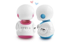 2 pcs/lotYOO! Multi-function stereo mini alien ET Saucerman External TF card mini speaker
