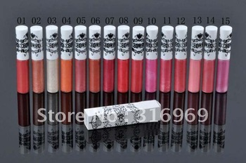 makeup cosmetics crown bright lipgloss lip glass 40pcs + free gift free shipping