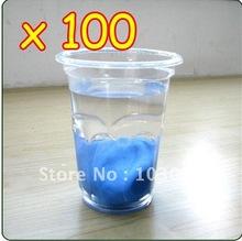 Wholesale Lots Of 100 Blue Auto Clay Bar / Car Detailing Poly Bars Magic No Retail Packaging Free Shipping(China (Mainland))