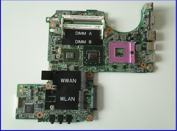 P/N P083J XPS M1330 motherboard (System board)with NV G86-631-A2 VGA board use for DELL DELL XPS M1330 laptop&Free Shipping