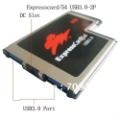 Express Card Expresscard 54 to USB 3.0 x 2 Port Adapter-ASM Chipset