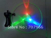 new exotic products,pull line UFO,Hand luminous flying saucer,outdoor toys, children's toys kid's,Flashing UFO,Wholesale 10pcs