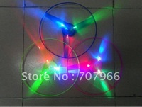 Manual arrows flying saucer,pull line UFO,Hand luminous flying saucer,outdoor toys, children's toys,Flashing UFO,Wholesale 20pcs