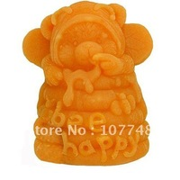 Soap Molds  Baby Bear Bee Happy Flexible Silicone Mold/Mould For Soap Candle Candy  Jelly Cake Craft