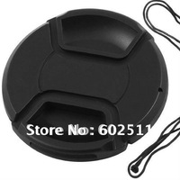 wholesale 62mm center pinch Snap-on cap cover for Canon Nikon 62 mm Lens