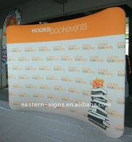 10ft Tension Fabric Exhibit Display
