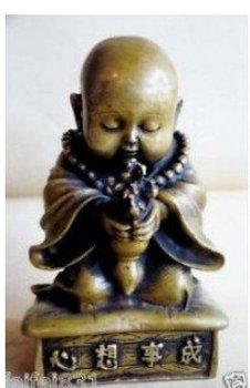 brass small bonze godliness Buddha statue 100% free shipping