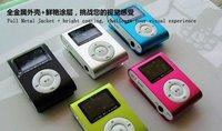 A screen with a screen clip mp3 clip mp3 clip cute mini sport MP3 player FM 2G