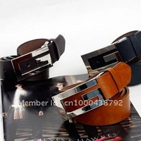 Free shipping Hot-sale imported high-quality leather belt, waist belt, 100% cow hide belt