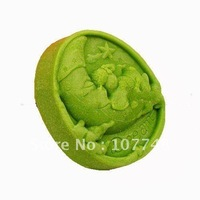 Soap Molds Cake Molds Monn Baby Christmas Gift Flexible Silicone Mold/Mould For Soap Candle Candy  Jelly Cake Craft