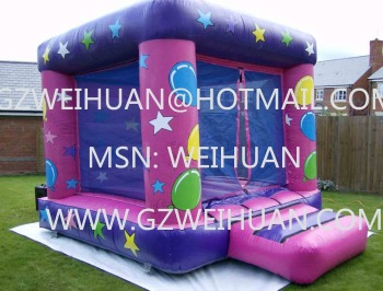 free shipping Leap the bed children's inflatable trampoline  + inflatable pump