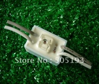 Super flux waterproof led module light x1led, DC12V work voltage,100pieces/lot free shipping