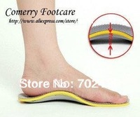 Free shipping  Arch Support Orthotics Insole TPU Orthotics Insole For Shoes Orthotic Insole 2pcs= 1pairs
