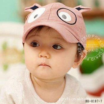 Fashional baby spring cotton hat, children baseball cap, kids sun hat, child autumn cap, Dog Cap 10pcs/lot free shipping