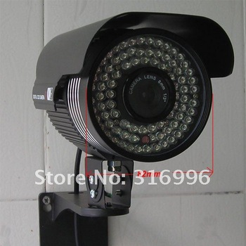 480TVL Sharp CCD Color Video 84IR Waterproof CCTV Surveillance Security Camera System DVR W70