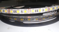 5m 5050 smd 72leds/m led flexible strip,DC12V input;waterproof IP65