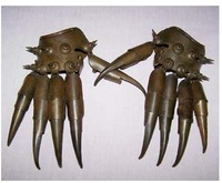 Statue of copper glove Raddoppiamento 100% free shipping