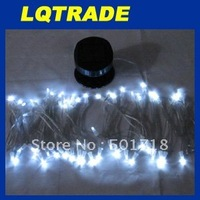 2011 Christmas Festival Decoration Party Lights/Solar Energy Lamp String 60LED white light 0.36W