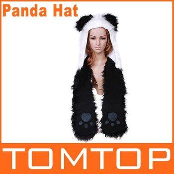 Cartoon Panda Plush Animal Hat, 125 Styles, Support Mix Order and Sample order, Free Shipping