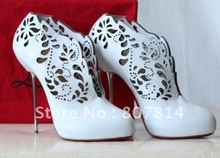 New style brand Women's shoes white suede Women's high heel pumps shoes(China (Mainland))